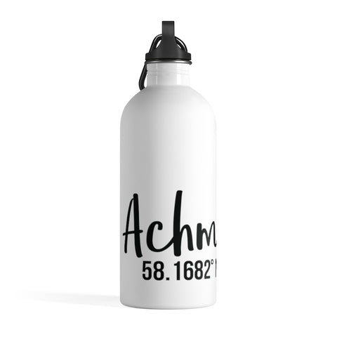 Stainless Steel Water Bottle: Achmelvich Coordinates