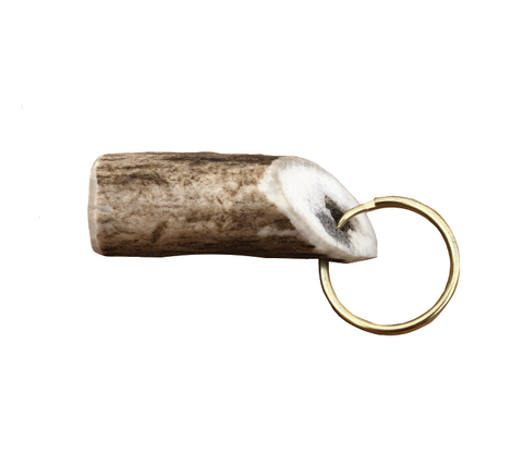 Red Deer Antler Keyring