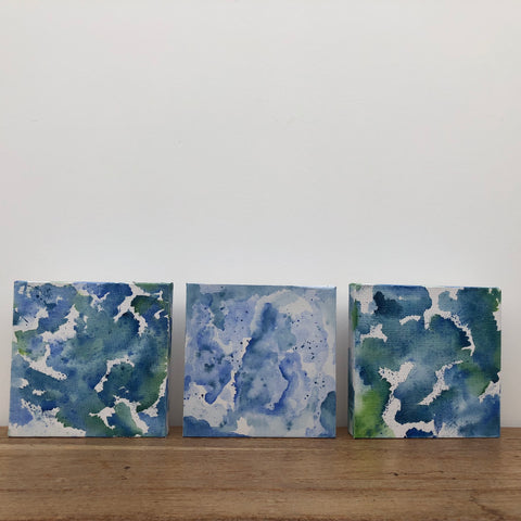 Trio (Ocean Paintings)