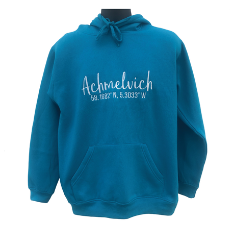 Achmelvich Coordinates Hoodie (Core Collection Adult/ Children)
