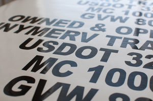 DOT Is Cracking Down On USDOT Lettering On Commercial Vehicles | Must Read