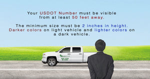 USDOT Number Sticker Requirements & Regulations | How to Apply Video