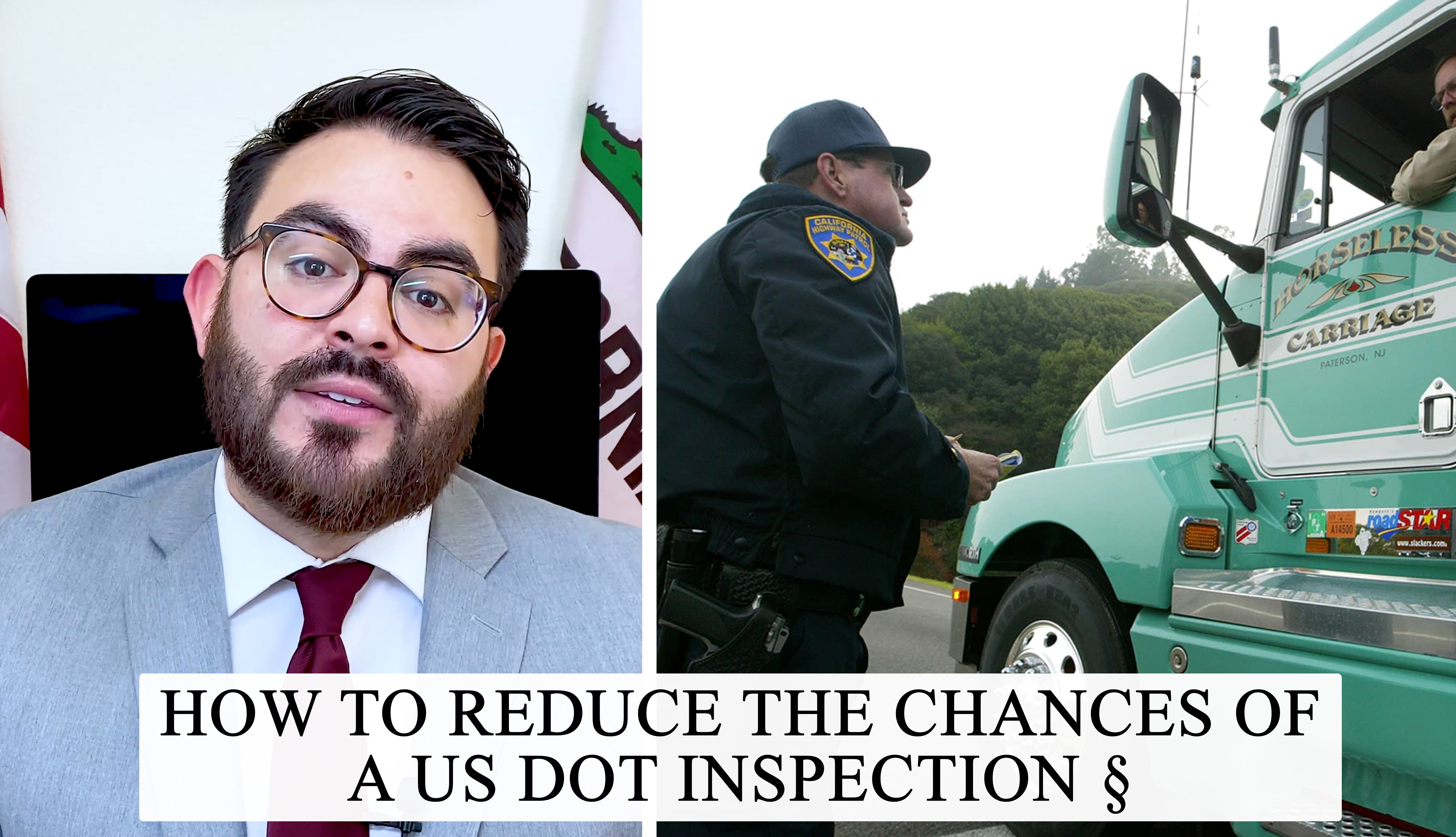 how to reduce the chances of a usdot inspection