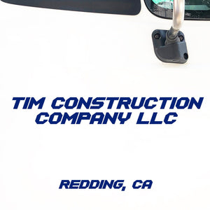 Company Name Decal with Location