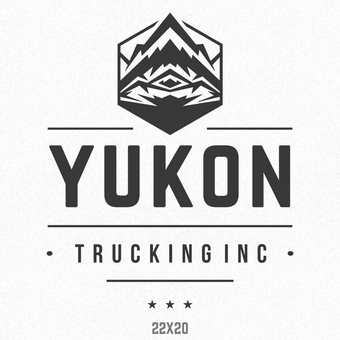 Company Name Truck Decal, (Set of 2)