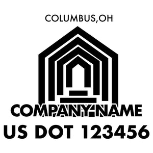 company name construction columns and US DOT