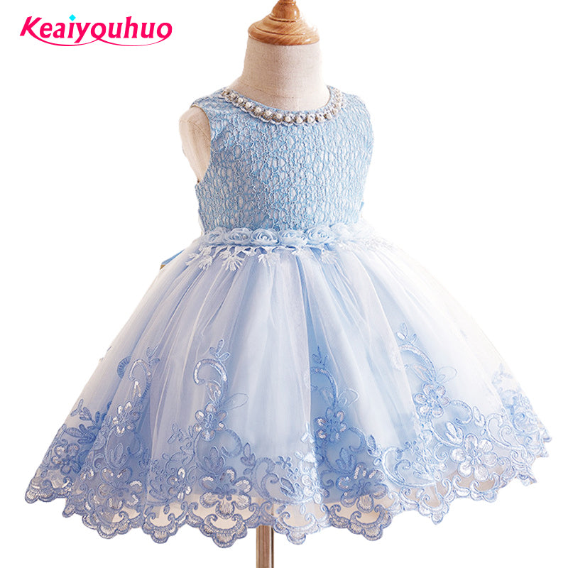 2017 Flower Girl Dress Kids Prom Party Wedding Ball Gown Children\'s ...