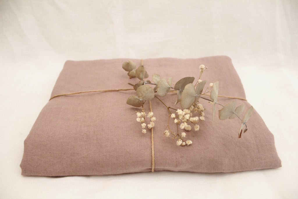 Linen Beach Throw Bloom