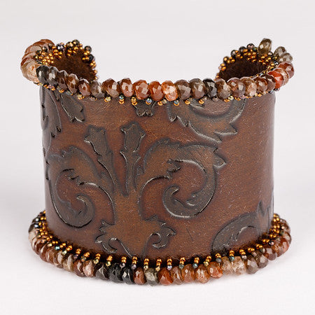 Andalusite Embossed Cuff