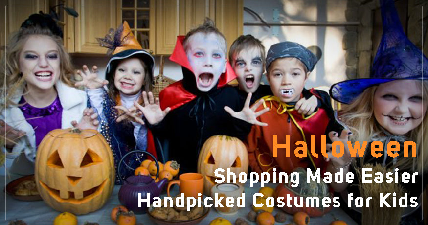 Halloween Shopping Made Easier: HandPicked Costumes for Kids