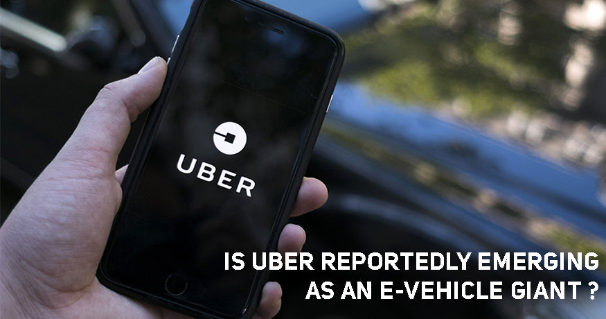 Is Uber Reportedly Emerging as an e-Vehicle Giant?