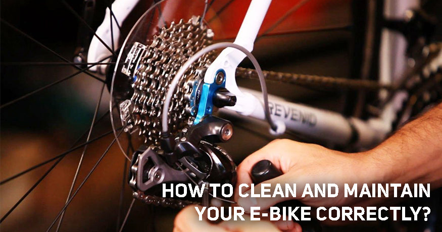 How to Clean and Maintain your E-Bike Correctly?