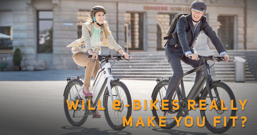 Will e-bikes really make you fit?