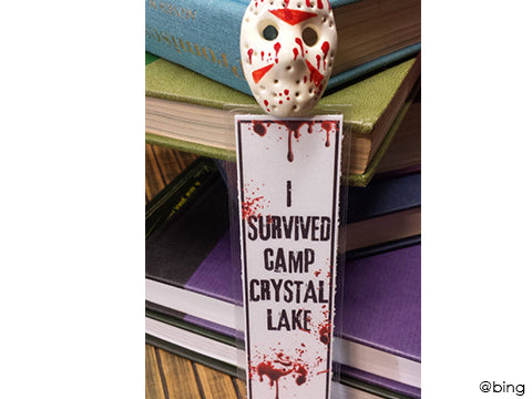 Scary Halloween Bookmark - Best Halloween props to frighten your guests
