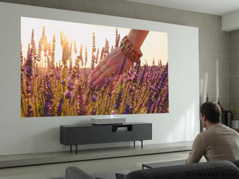 First 4K Laser Projector