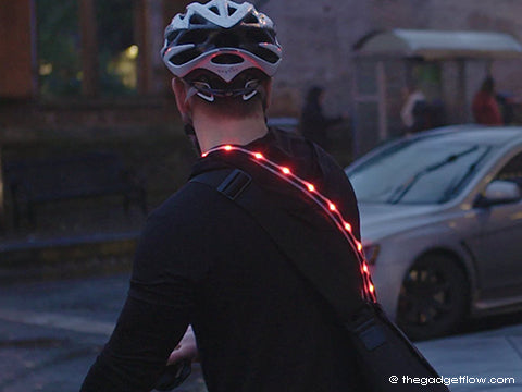 Smart Wearables  - Crossbelt LED Brake Light