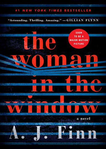 The Woman in the Window by A.J. Finn - Halloween Movies