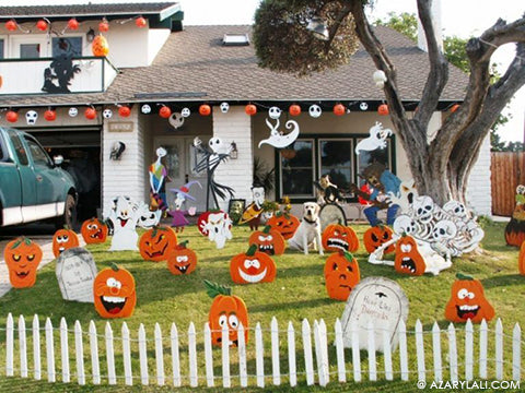 The Halloween Decorations