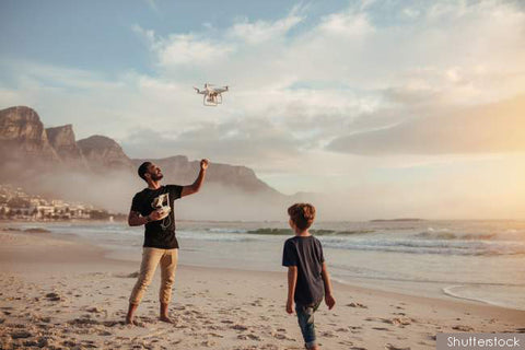 Using Drone in the Beach
