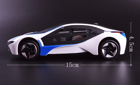 Image of Concept Car Pull Back Toy Car, Miniature Sport Car - JustPeriDrive - JustPeri - Drive Your Destiny