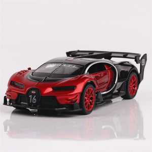 Concept Car - Bugatti Gt Metal Toy Alloy Car Diecasts - Miniature Scale Model Car Toys For Children