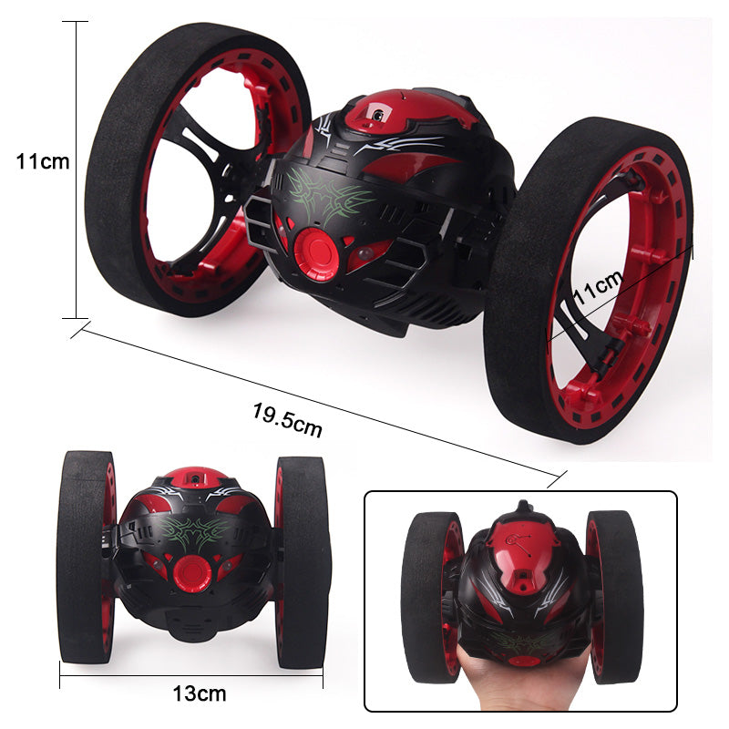 2.4GHz RC Bounce Car With Jumping LED Light and Music - JustPeri - Drive Your Destiny