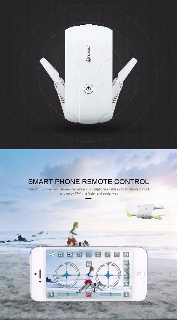 Follow Me 720P Selfie Drone with Pocket Fit Design - JustPeri - Drive Your Destiny