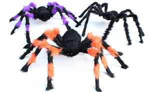 Giant Halloween Spiders for Party and Home Decorations