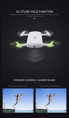 Image of Follow Me 720P Selfie Drone with Pocket Fit Design - JustPeri - Drive Your Destiny