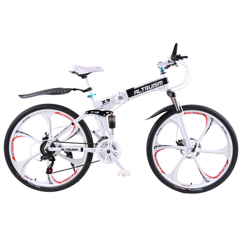 Trendy Foldable Electric bike with 21-speed Dual disc brake - JustPeri - Drive Your Destiny