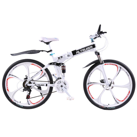 Image of Trendy Foldable Electric bike with 21-speed Dual disc brake - JustPeri - Drive Your Destiny