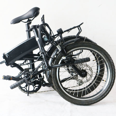 "Image of 20"" Electric Motor Folding Snow Bike with Hidden Battery - JustPeri - Drive Your Destiny"