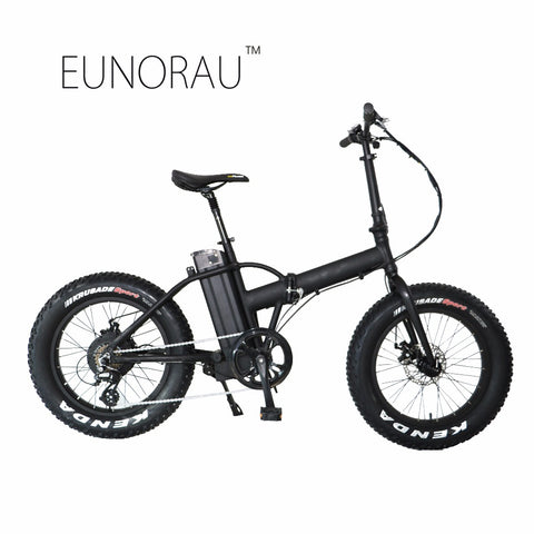 Image of 20 inch Fat Tired High Speed Folding Electric Bike - JustPeri - Drive Your Destiny