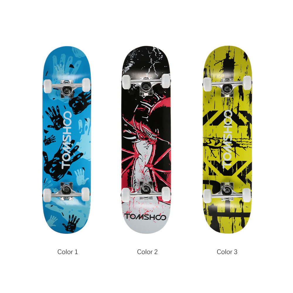 Freestyle Graphic Printed 31 inch Long Skateboard - JustPeri - Drive Your Destiny