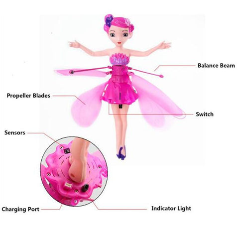 Image of Fairy Dolls IR Induction Flight Control, Girl's Toys - JustPeri - Drive Your Destiny