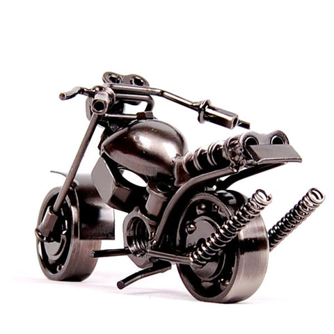 Image of Mini Die-Cast Metal Motorbike Model Display Toy - JustPeri - Drive Your Destiny