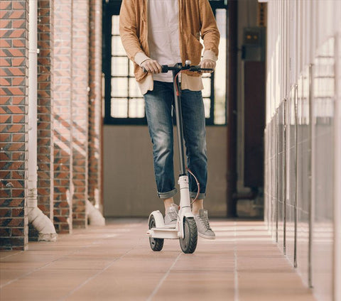 Image of Lightweight, Waterproof Smart Electric Scooter - JustPeriDrive - JustPeri - Drive Your Destiny