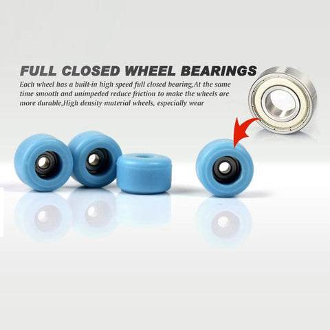 Image of Professional Type Alloy Stent  Bearing Wheels - Finger Skateboard - JustPeri - Drive Your Destiny