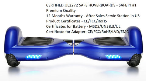 6.5 inch Premium Bluetooth Certified Hoverboard - JustPeri - Drive Your Destiny
