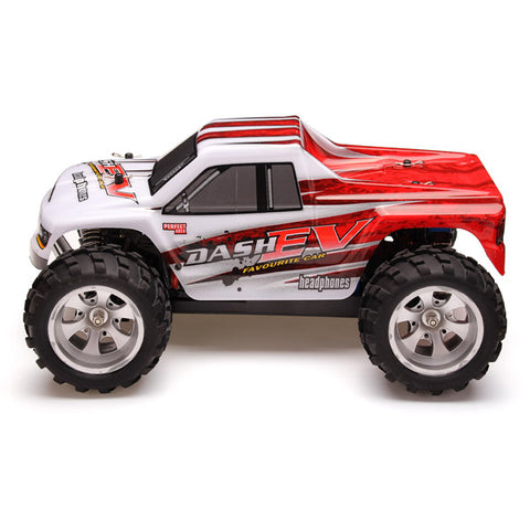 Image of RC Racing Car 4WD  Brushed Motor Monster Truck - JustPeri - Drive Your Destiny
