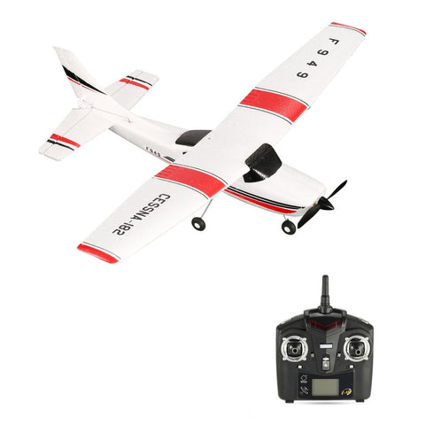 2.4GHz RC Plane, Outdoor Toy Airplane For Kids - JustPeri - Drive Your Destiny