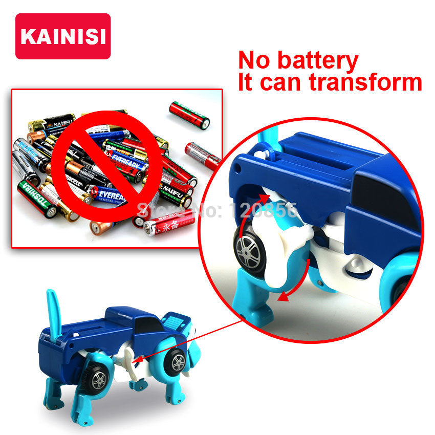 Cool Automatic Transformer Dog Pull Back - JustPeri - Drive Your Destiny