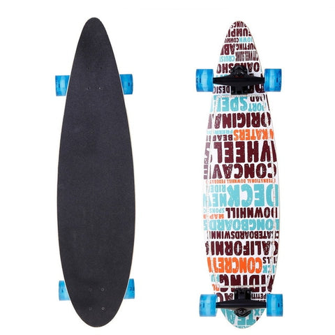 Image of 40'' Wooden LED Skateboards For Adults & Kids - JustPeri - Drive Your Destiny