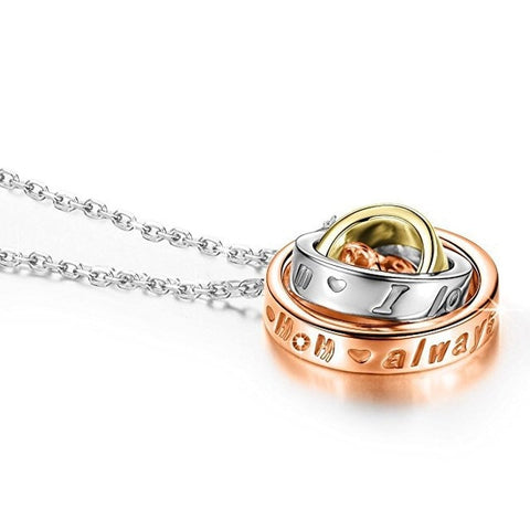 Image of Trendy Rhinestone Rings Pendant Chain- Women Fashion Jewelry - JustPeri - Drive Your Destiny