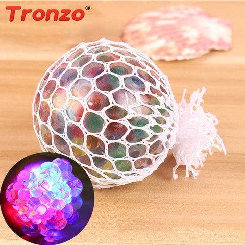 Mesh Squishy Glowing Anti-stress Ball - JustPeri - Drive Your Destiny