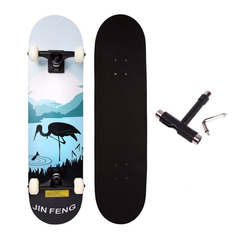 "31"" x 8"" Concave Double Kick Cruiser Board - JustPeri - Drive Your Destiny"