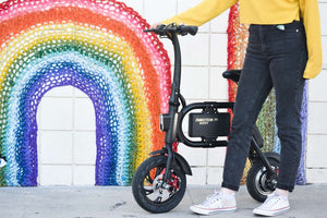 Mini Folding Electric bikes with Smart Lock