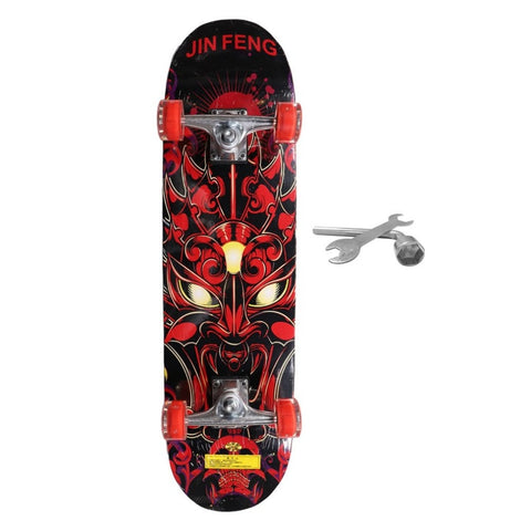 Image of Flash Wheel Entertainment Skateboard For Children - JustPeri - Drive Your Destiny