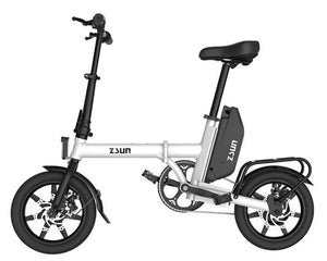 2018 mini  Folding Electric Bike 10-inch 21 speed 48V Lithium Battery 240W Electric Scooter