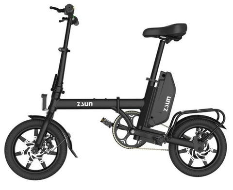 Image of Mini Foldable Electric Bike with 48V Lithium Battery - JustPeri - Drive Your Destiny